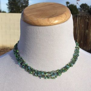 Jewelry - Blue/Green Beaded Necklace